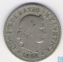  Switzerland 5 rappen 1888