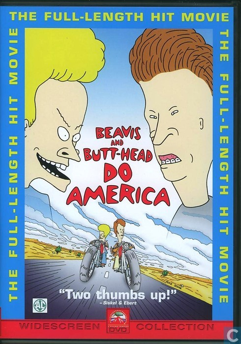 beavis and butthead do america dvd catawiki