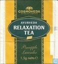 Tea bag label - Cosmoveda - Entspannings Tee