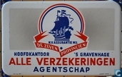 Enamel signs - Lancat Bussum - NV Assurantie Mij. DE ZEVEN PROVINCIEN