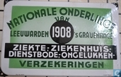 NATIONALE ONDERLINGE van 1908 Leeuwarden - 's Gravenhage
