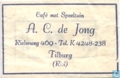 Caf met Speeltuin A.C. de Jong