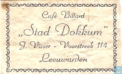 Caf Billard &quot;Stad Dokkum&quot;