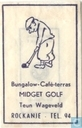 Bungalow Caf Terras Midget Golf