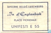 Taveerne Belgi Luxemburg &quot;In d'Englenbak&quot;