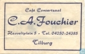 Caf Concertzaal C.A. Fouchier