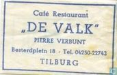 Caf Restaurant &quot;De Valk&quot;