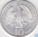 "Germany 10 mark 2000 F ""250th Anniversary Johann Sebastian Bach's death"""