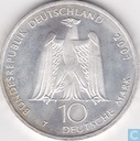 "Germany 10 mark 2001 J ""200th Anniversary birth of Albert Gustav Lortzing"""