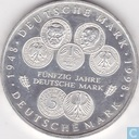 "Germany 10 mark 1998 F ""50 years Deutsche Mark"""
