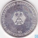 "Germany 10 mark 1999 D ""50th Anniversary of the Bundesrepublik Constitution"""