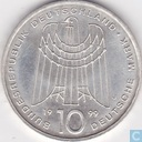 "Germany 10 mark 1999 J ""50 years SOS Kinderdörfer"""