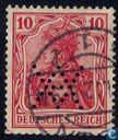 Germania Inschrift DEUTSCHES REICH