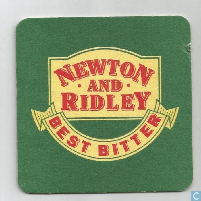 Beer United Kingdom  City new picture : Beer mats United Kingdom Newton and Ridley best bitter