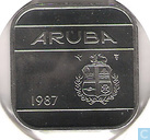 Aruba 50 cents 1987