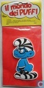 Brainy smurf with gevangenispak foam figure
