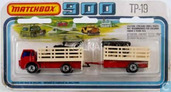 Model car - Matchbox - Cattle Truck & Trailer