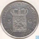 Netherlands 3 gulden 1832/24