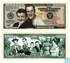 Abbot and Costello commemorative banknote