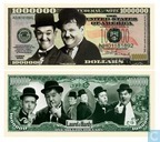 LAUREL and HARDY commemorative banknote