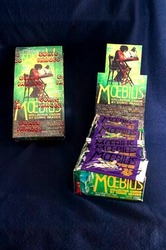 Moebius Collector Cards - complete set kaarten + complete box