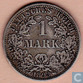 German Empire 1 mark 1893 (A)