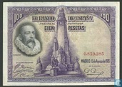Spain 100 Pesetas w/o SERIAL