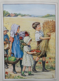 Cicely Mary Barker illustreert: The children's book of hymns - 1929