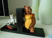 Bommel and Tom puss bookend (
