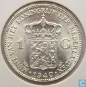 Coin - the Netherlands - Netherlands 1 gulden 1940