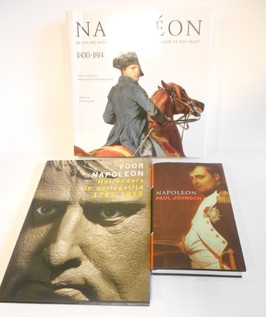 The life of Napoleon Bonaparte 1897 en 3 andere over Napoleon.