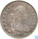 United States 50 cents 1797