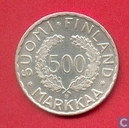 "Coins - Finland - Finland 500 markkaa 1951 ""Olympic Games 1952"""