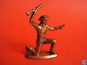 Toy soldier - Ferrero - Cowboy (copper)
