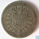 Coin - Germany - German Empire 1 mark 1874 (B)