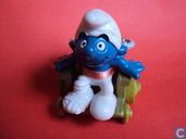 Wheelchair Smurf