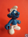 Smurf with red feather Hat
