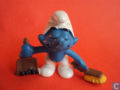 Cleaning Smurf