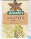 Tea bag label - Dogadan - Anason
