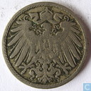 Coin - Germany - German Empire 5 pfennig 1899 J