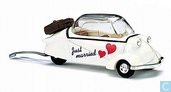 Model car - Busch - Messerschmitt KR200 'Just Married'