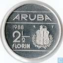 Aruba 2 florin 1988