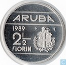 Aruba 2 florin 1989