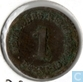 German Empire 1 pfennig 1874 (B)