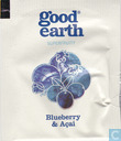 Tea bag label - Good Earth - Blueberry & Açai