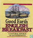 Tea bag label - Good Earth - English Breakfast