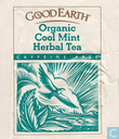 Tea bag label - Good Earth - Cool Mint Herbal Tea