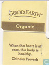 Tea bag label - Good Earth - White Tea Sweet Citrus