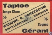 Matchcover - Weerterlucifers - Taptoe Gerant