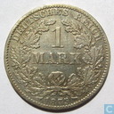 Coin - Germany - German empire 1 mark 1875 (B)